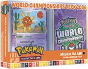 2006 World Championships Deck - Miska Saari Suns & Moons Deck