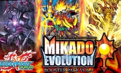 Buddyfight BFE-H-BT04 Mikado Evolution Booster Pack