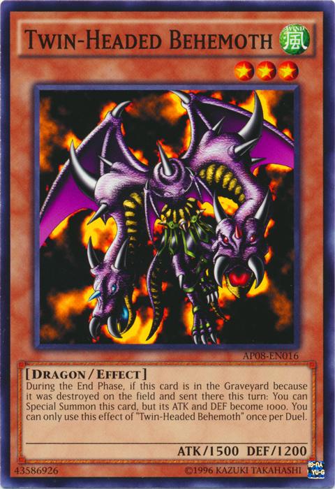 Twin-Headed Behemoth - AP08-EN016 - Common - Unlimited Edition