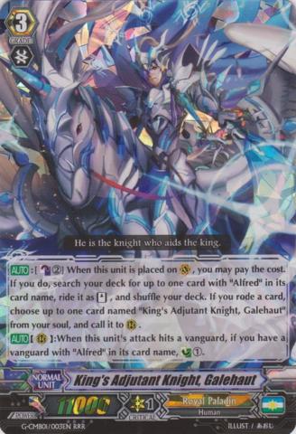 Kings Adjutant Knight, Galehaut - G-CMB01/003EN - RRR
