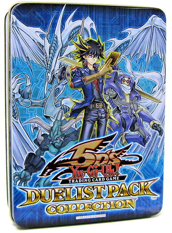 2009 Duelist Pack Collection Blue Tin