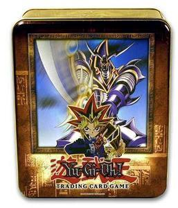 Buster Blader 2003 Collectors Tin with 5 Packs and BPT 008 Card