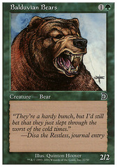 Balduvian Bears on Channel Fireball