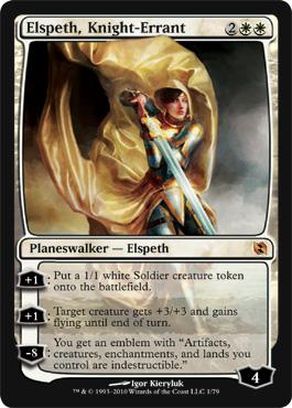 Elspeth, Knight-Errant - Foil