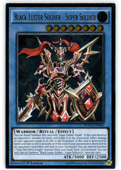 Black Luster Soldier - Super Soldier - DOCS-EN042 - Ultimate Rare - 1st Edition