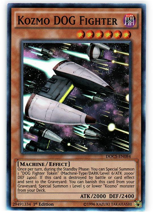 Kozmo DOG Fighter - DOCS-EN084 - Super Rare - 1st Edition