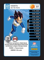 Vegeta - On The Move - Foil