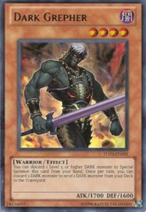 Dark Grepher - TU03-EN001 - Ultra Rare - Promo Edition