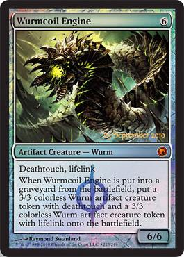 Wurmcoil Engine - Foil - Prerelease Promo