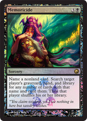Memoricide - (Scars of Mirrodin Buy-a-Box Promo)