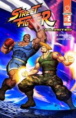 Street Fighter Unlimited #2  (Cover A - Genzoman Story Cover)