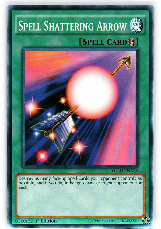 Spell Shattering Arrow Ygld Ena28 Common 1st Edition