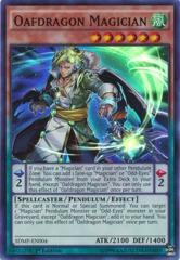 Oafdragon Magician? - SDMP-EN004 - Super Rare - 1st Edition on Channel Fireball
