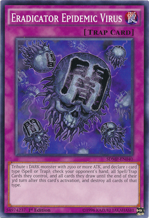 Eradicator Epidemic Virus - SDMP-EN040 - Common - 1st Edition
