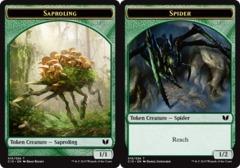 Saproling Token // Spider Token