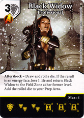 Black Widow - Professional (Die & Card Combo)