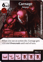 Carnage - Insane (Die & Card Combo)