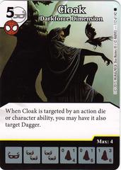 Cloak - Darkforce Dimension (Card Only)