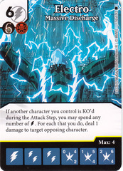 Electro - Massive Discharge (Card Only)