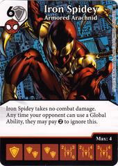 Iron Spidey - Armored Arachnid (Card Only)