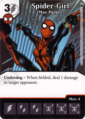 Spider-Girl - May Parker (Die & Card Combo)