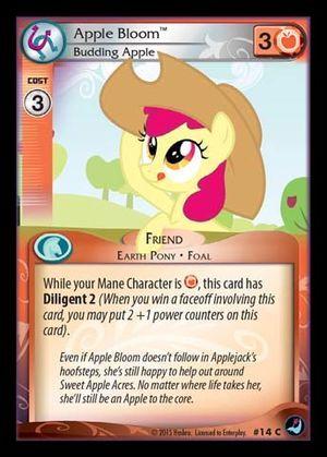 Apple Bloom, Budding Apple - 14