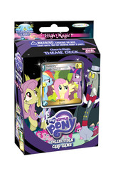 My Little Pony CCG: High Magic Chaos is Magic Theme Deck (Fluttershy Foil)