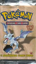 Fossil 1st Edition Booster Pack