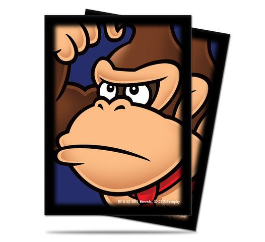 Super Mario: Donkey Kong Deck Protector sleeves 65ct