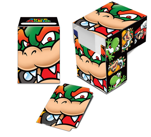Super Mario: Bowser Full-View Deck Box