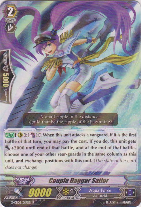 Couple Dagger Sailor - G-CB02/017EN - R