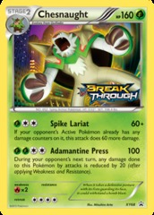 Chesnaught - XY68 - XY BREAKThrough Prerelease Promo