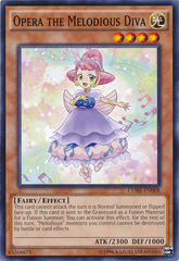 Opera the Melodious Diva - CORE-EN008 - Common - Unlimited Edition