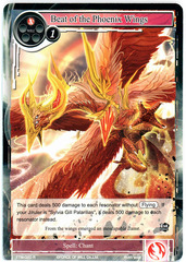 Beat of the Phoenix Wings - TTW-020 - R - 1st Edition on Channel Fireball