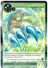 Beastly Attack - TTW-055 - C - 1st Edition (Foil) on Channel Fireball