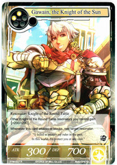 Gawain, the Knight of the Sun - TTW-007 - R - 1st Edition (Foil)