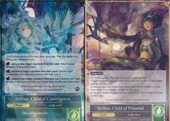 Reflect, Child of Potential // Refrain, Child of Convergence - TTW-063 // TTW-063J - R - 1st Edition (Foil)