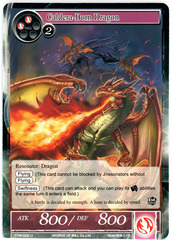 Caldera-Born Dragon - TTW-022 - U - 1st Edition (Foil)