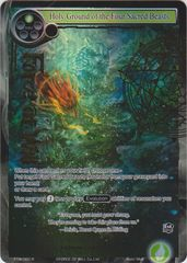 Holy Ground of the Four Sacred Beasts - TTW-060 - R - 1st Edition - Full Art