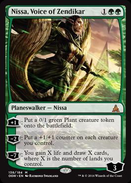 Nissa, Voice of Zendikar - Foil