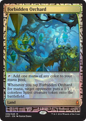 Forbidden Orchard (Masterpiece Foil)