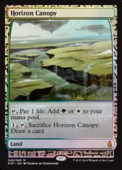Horizon Canopy - Foil (Zendikar Expedition: Oath of the Gatewatch Lands)