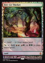 Fire-Lit Thicket (Masterpiece Foil)