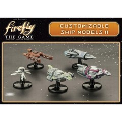 Firefly, The Game: Customizable Resin Ship Set 2