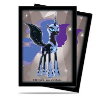 My Little Pony Deck Protector Sleeves - Nightmare Moon 65ct