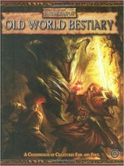 Old World Bestiary, Vol. 1, Warhammer Fantasy Roleplay