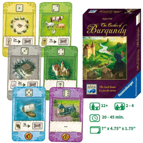 CASTLES OF BURGUNDY: THE CARD GAME