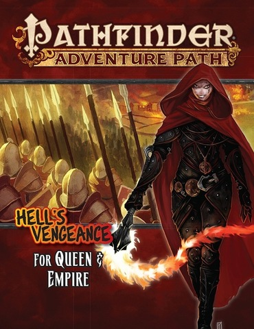 Pathfinder Adventure Path #106 For Queen & Empire (Hells Vengeance 4 of 6)