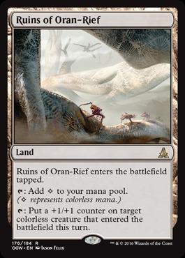 Ruins of Oran-Rief - Foil