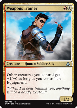 Weapons Trainer - Foil